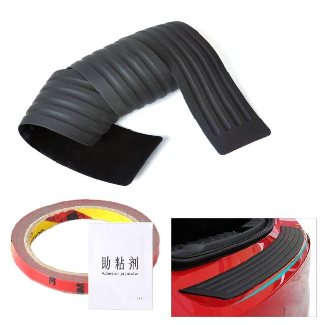 Rear Trunk Bumper Sill Rubber Pad Guard Protector For VW Audi Toyota Ford Buick