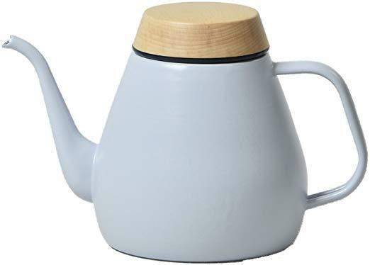 Ovject Drip Kettle 1.8 L IH & Gas Correspondence Light bleu Made in Japan F S