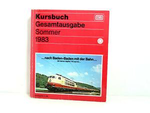 Railway Guide Complete Edition Summer 1983 DB Deutsche Bundesbahn With Extras