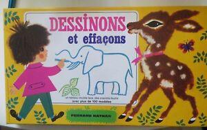 Jeu-Dessinons-et-effacons-1970-Fernand-Nathan-Cavahel-Vintage