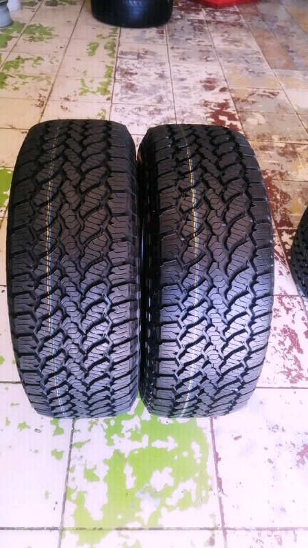 255/60R18 GENERAL GRABBER Tyres A Set Of Four On Salei