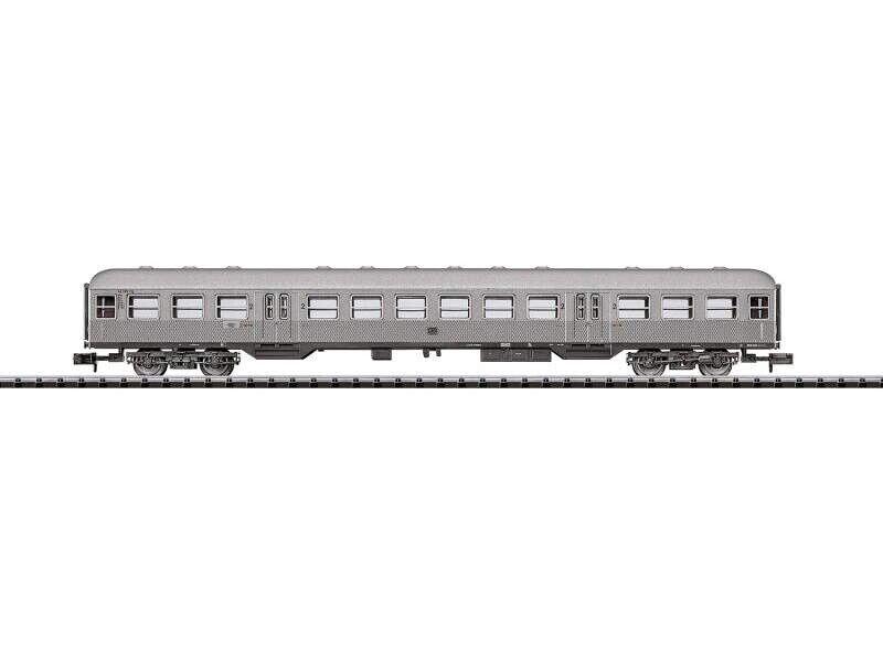 Trix 15446 vetture passeggeri BN 'Silberling' della DB, Minitrix Traccia N