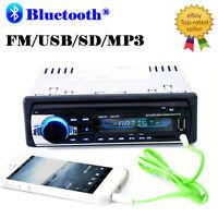 Car Radio Bluetooth Stereo Head Unit Player Mp3/usb/sd/aux-in/fm In-dash Ipod