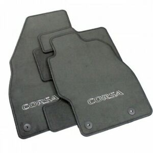 Genuine-Vauxhall-Corsa-D-E-Velour-Tailored-Carpet-Floor-Mats-93199290-2007-2019