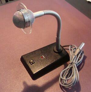 Vintage Classic Telefunken MD 418-4 Dynamic Microphone - NOS