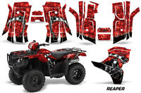 Amr Racing Honda Foreman Graphics Sticker Quad Kit 2015 Atv Decal Reaper Red