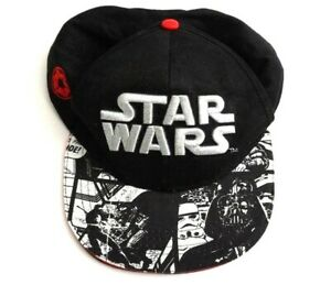 8ce71a9274b09 Image is loading Star-Wars-Snap-back-Hat-Cap-Black-Galactic-