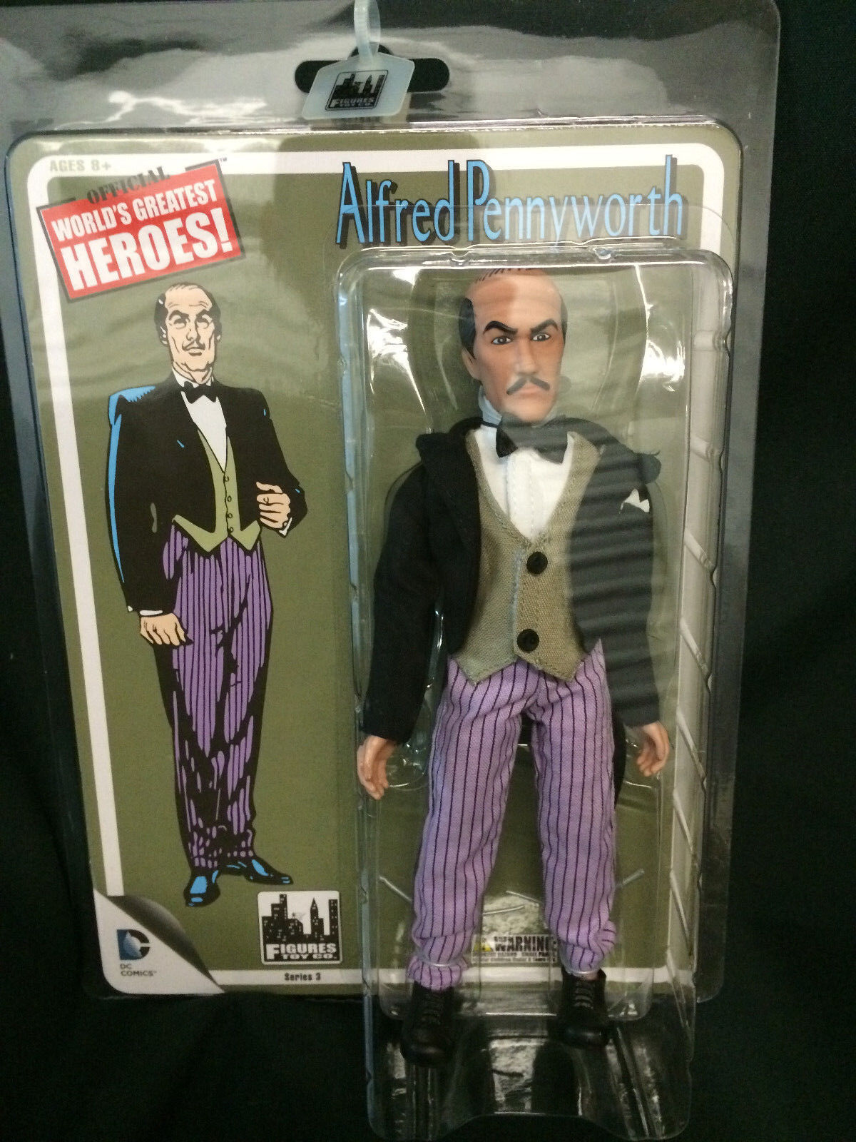 World's Greatest Heroes Retro Batman Batman Batman ALFROT PENNYWORTH MEGO Figures Toy Company e2ff18