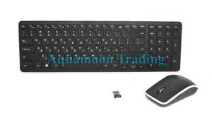 aa351dffe02 Image is loading X449W-KM714-Hebrew-QWERTY-Dell-KM713-Keyboard-Wireless-