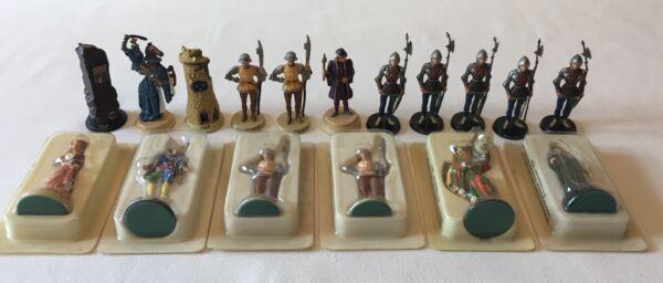 (i37) Lot De 17 Figurines Fij Atlas Dont 6 Neuves Dans Leurs Boites - Tbe CaractèRe Aromatique Et GoûT AgréAble