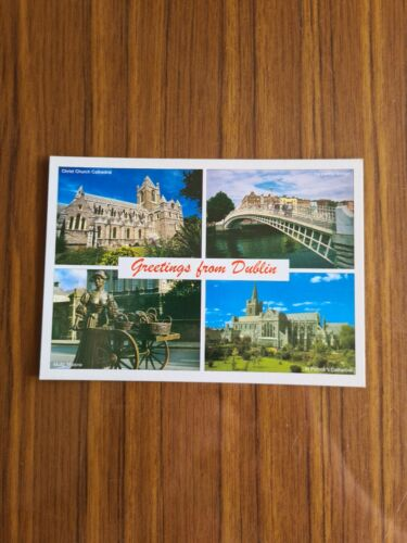 set 4 Selection of 5 Postcards of Dublin Ireland