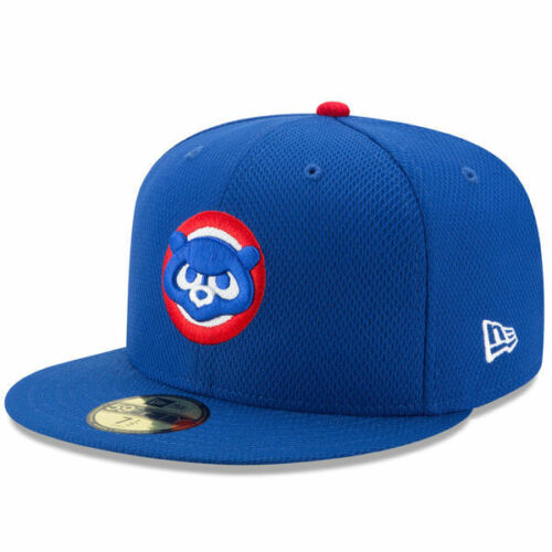 Chicago Cubs New Era Royal Cub Head Diamond Era 59FIFTY Fitted Hat New With Tags