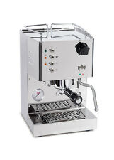 Quickmill 4100 Pippa Espresso Machine Cappuccino Coffee Maker Chromed 110220v