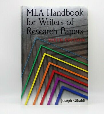 Mla handbook for writers of research papers 6th edition pdf best dissertation results writing for hire usa