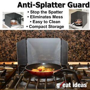 Anti-Splatter-Shield-Guard-Cooking-Frying-Pan-Oil-Splash-Screen-Kitchen-Cover