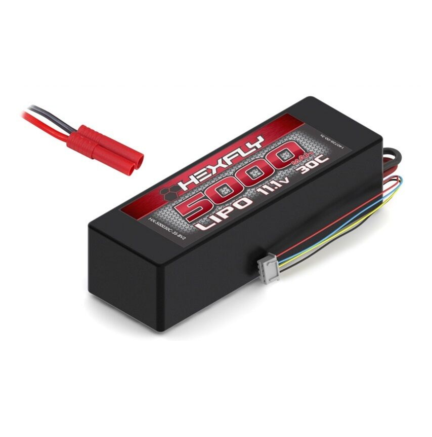 Hexfly 5000mah 11.1V 30C 3S LIPO  Battery  popolare