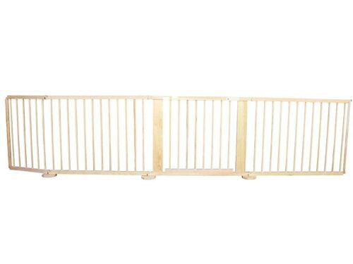 Absperrgitter Türschutzgitter Treppenschutzgitter 119 bis 368 cm massiv kiefer