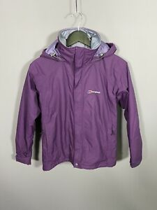 BERGHAUS-AQ2-QUILTED-Jacket-UK8-Purple-Great-Condition-Women-s