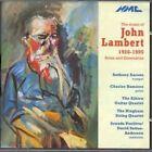 Music of John Lambert 1926 1995 5023363002622 CD P H