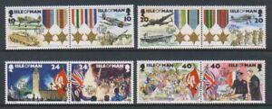 Isle-von-Mann-1995-End-Of-WWII-Set-MNH-Sg-641-8