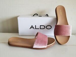 07c301788 Image is loading NEW-ALDO-Women-039-s-Shoes-FLATS-SLIDE-