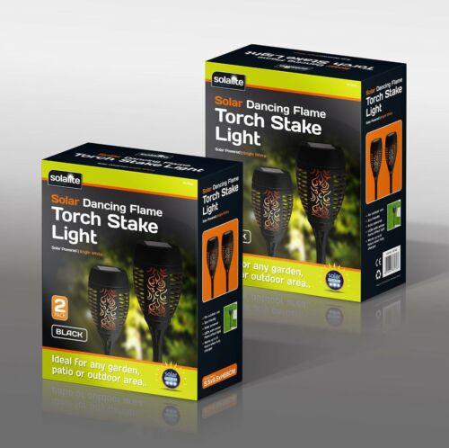 36 DEL flamme Solaire Torche Light étanche Clignotante Dancing Chemin Lampe de jardin