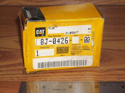 Plug-Straight Thread Details about  /GENUINE NEW CATERPILLAR CAT Part # 8J-0426