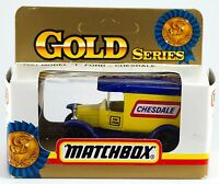 Matchbox Australian Gold Series 1921 Model T Ford Chesdale 1:64 In Box