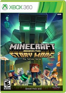 Minecraft Story Mode Season Two 2 Season Pass Disc Microsoft