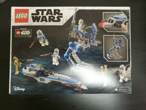 Lego Star Wars 75280 501st Legion Clone Troopers Sealed Factory Sealed In Hand