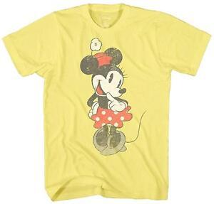 Disney-Shy-Minnie-Mouse-Graphic-Tee-Vintage-Disneyland-World-Mens-Adult-T-shirt
