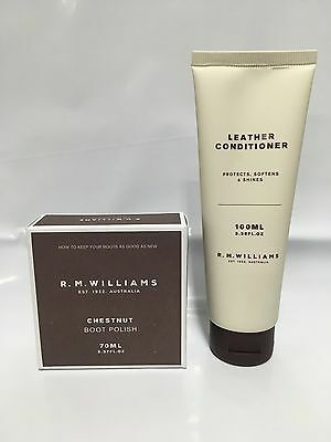 Stockman's Boot Polish Deal Rm Williams Leather Conditioner Clothing, Shoes & Accessories