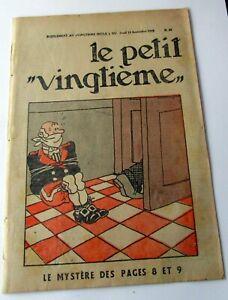 TINTIN-HERGE-LE-PETIT-VINGTIEME-NO-37-1932-BON-ETAT