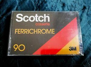 SCOTCH-FERRICHROME-90-blank-sealed-cassette-tape
