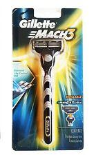 Gillette Mach3 Razor Blade Handle - Holds Mach3 and Turbo Blades