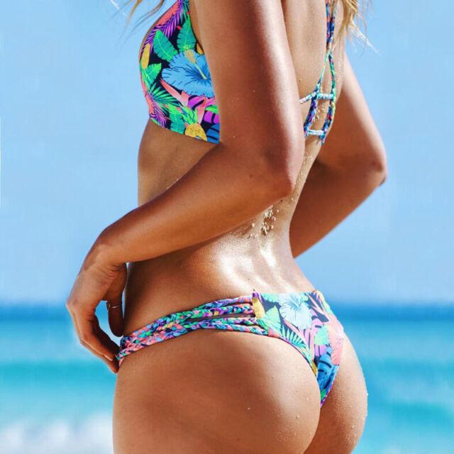 2016 New Fashion Summer Sexy Women Bandage Bikini Set Swimsuit Bathing