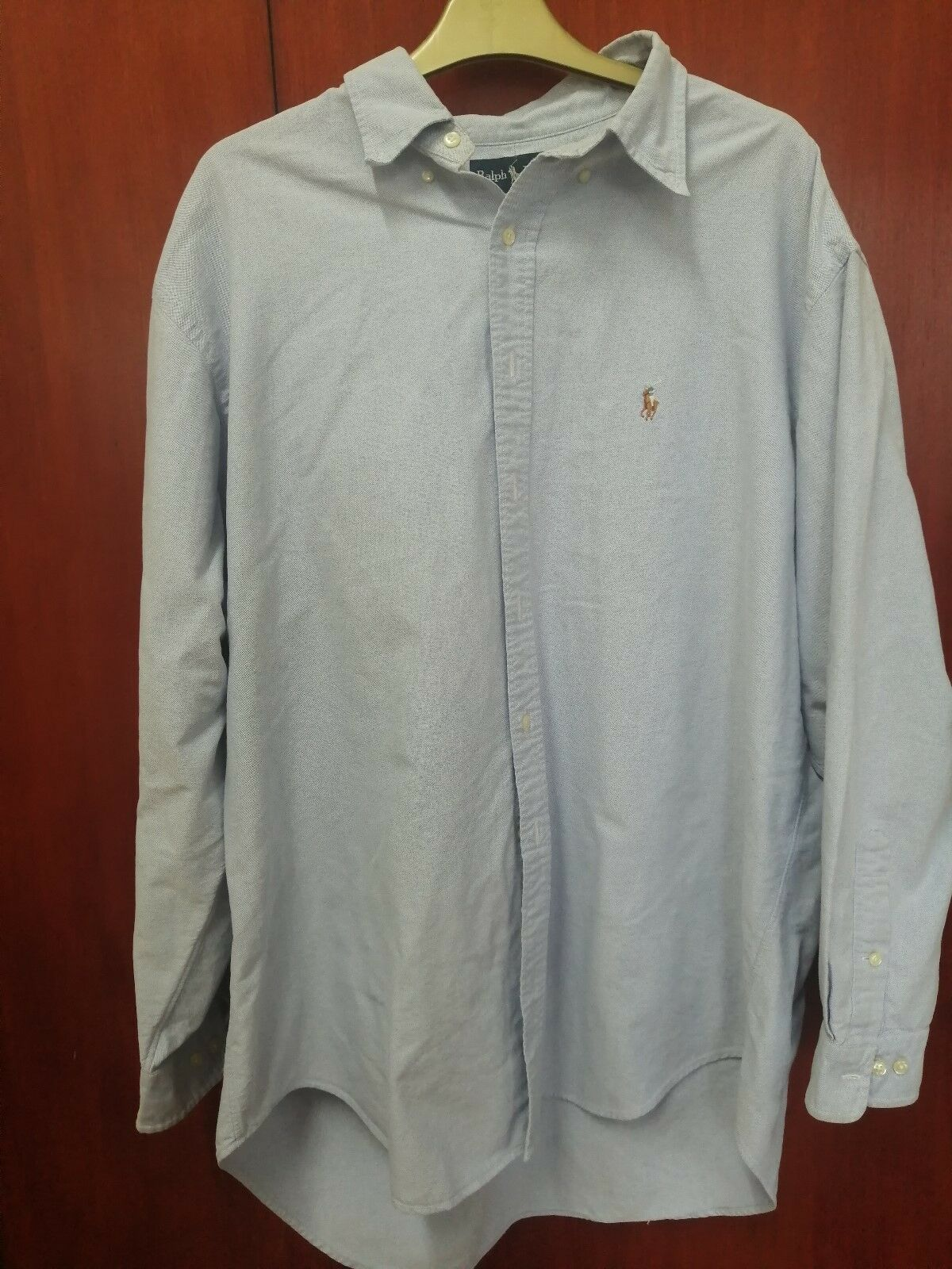 67ca02472a4fc5 Ralph Lauren Shirt - Men s Long Sleeved Light bluee nqfovb26059 ...