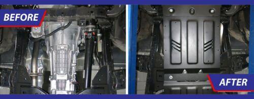 MITSUBISHI L200 //TRITON 2007-2015 ENGINE GUARD SKID PLATE UNDERTRAY BLACK STEEL