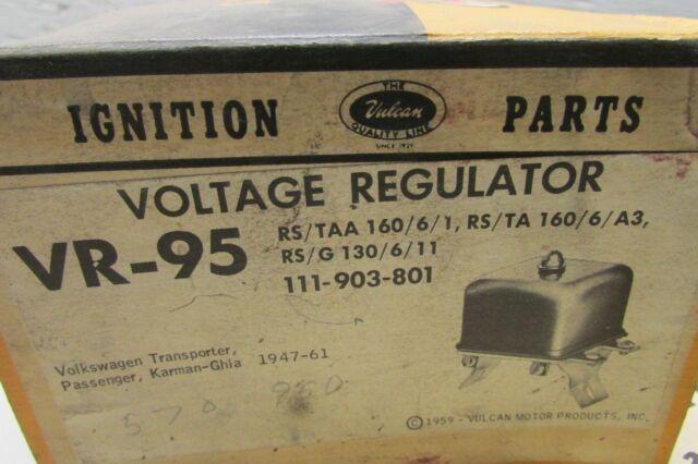 Generator Standard VR-111 Voltage Regulator-Alternator