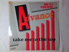 "ADVANCE Take me to the top remix '91 12"" HOLLAND ITALO DISCO IVANA SPAGNA"