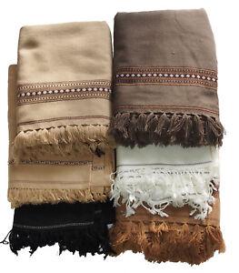 Stetig Traditionell Afghan Patoo Decke Schal Wolldecke Handmade Blanket Scarf Shawl Quell Sommer Durst