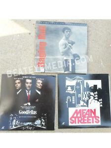 RAGING-BULL-GOODFELLAS-MEAN-STREETS-CRITERION-LASERDISC-MOVIES-FILM-SCORSESE