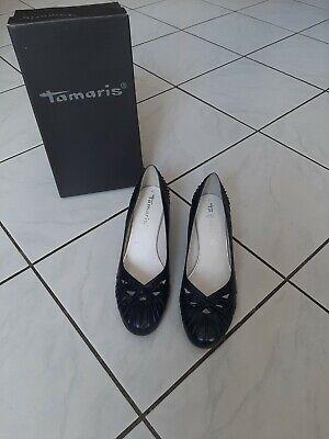 Tamaris Damen Pumps in blau navy 1 1 2243220 Gr 40 neu | eBay