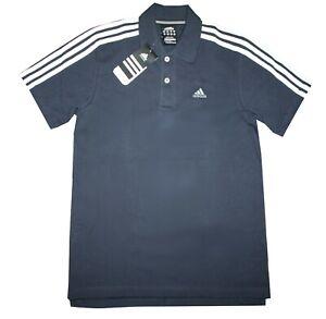 Adidas-Ess-3S-Polo-Herren-Jungen-Shirt-Poloshirt-Sportshirt-Clima365-Gr-S-164