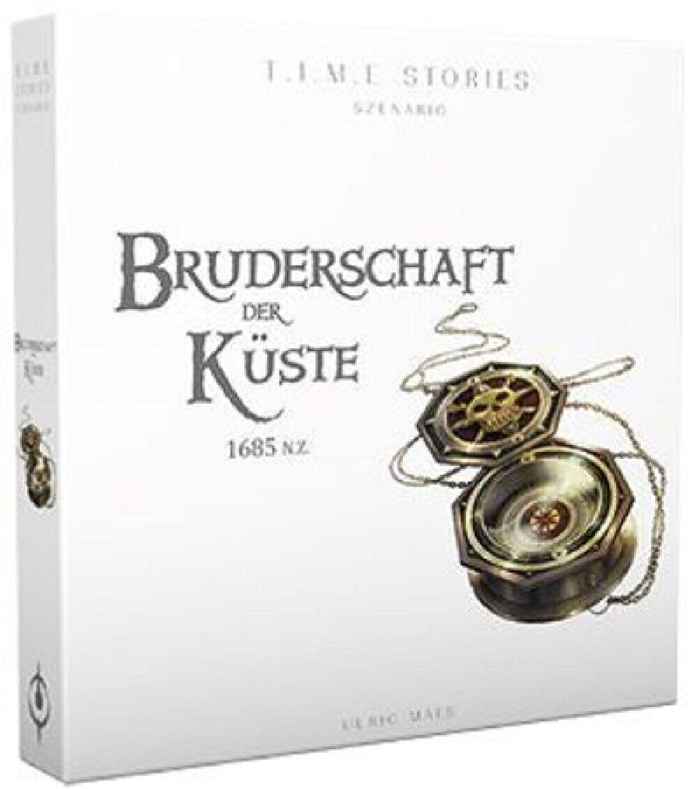 TIME Stories - Bruderschaft der Küste • Erweiterung DEUTSCH Asmodee Neu+Top