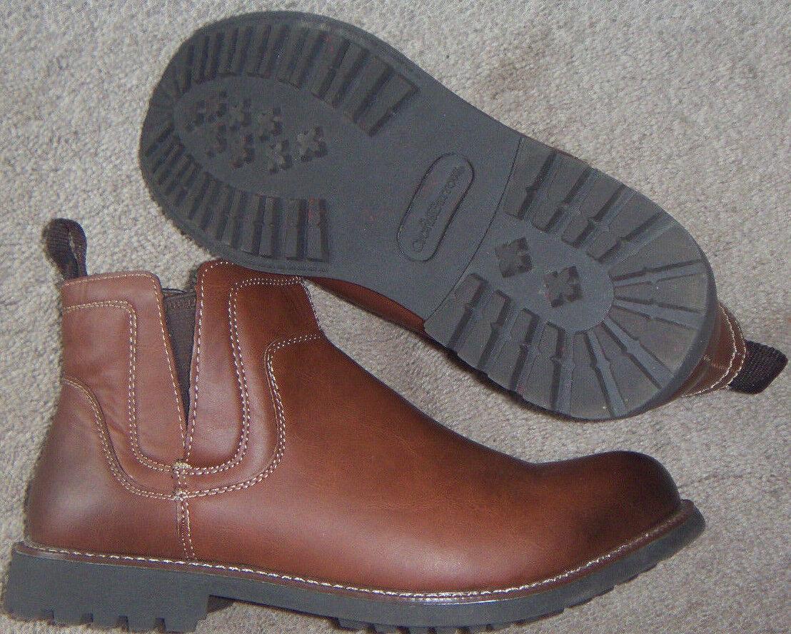 New Mens Croft & Barrow marrón Astin Ankle botas Talla 11 Memory Foam Retail  90