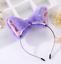 Fox Long Fur Ears Anime Neko Party Costume Hair Headband Cosplay Orecchiette Cat