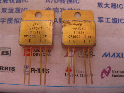 Details about  /1X VPR247 0R1000 0.1/% High Precision Current Sensing Resistors with