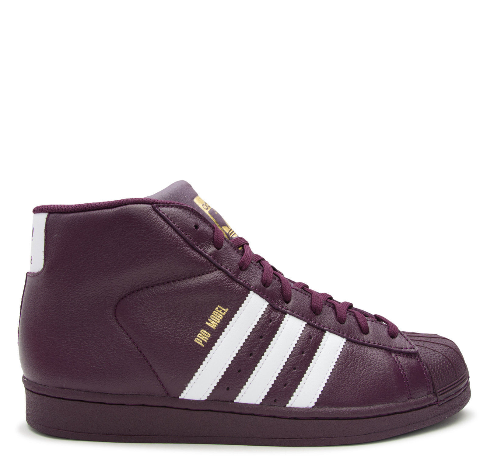 MENS ADIDAS PRO MODEL RED/WHITE/GOLD *RED*