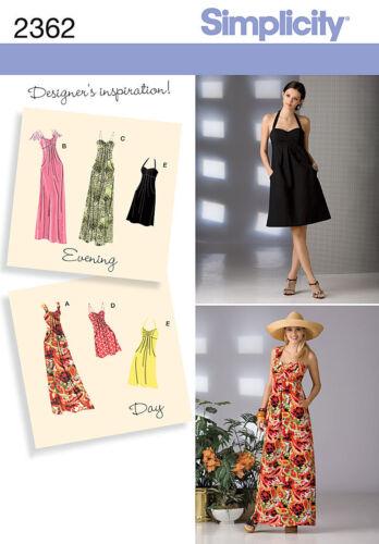 Robe em trois longeurs Femme S 2362 Patron couture
